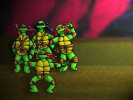 TMNT by BlueFlame74