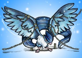 Chained Articuno by Shimochii