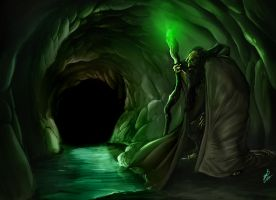 Ancient Sorcerer by TheRisingSoul