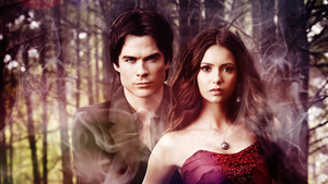 Damon and Elena by Davids-Place
