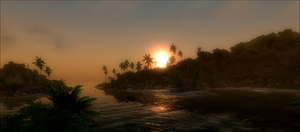 Crysis Beach by VaLkyR-Anubis