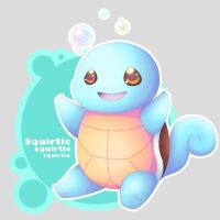 Squirtle by Modern-Swinger