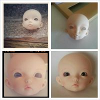 First Faceup Attempt by amongthedolls