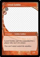 MtG: Loyal Goblin by Overlord-J