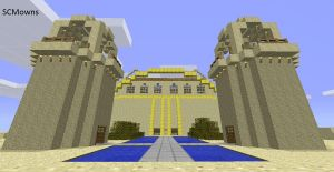 Minecraft Sand Castle Download by SCMowns