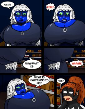 Black Cat 6 Blueberry Blowup 6 by pigsofdoom