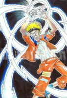 Naruto by me by Sommum