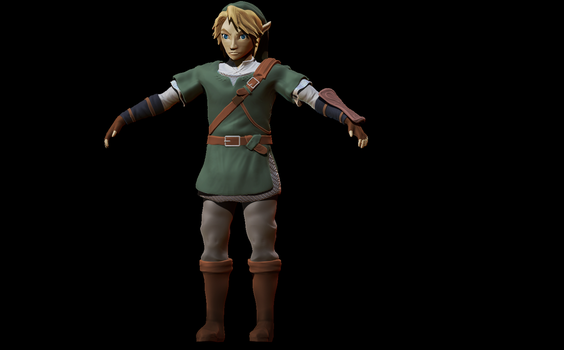 Link W.I.P by Unclesatan