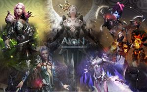 Aion Wallpaper by cgmayhem