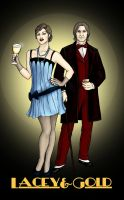 Lacey and Gold - 1920s by Roman-de-la-Croix