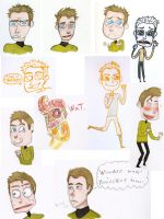 JIM'S TURN TO EMOTE by OCaptainMyCaptain