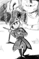 The Boy and His Soldier by JayPhilips