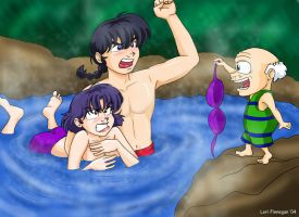 Ranma-Swimming Lessons by irishgirl982