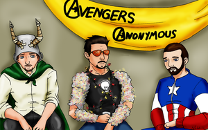 Avengers Anonymous by SubduedMoon