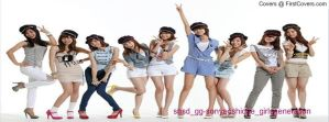 snsd genie Korean version facebook cover 3 by alisonporter1994