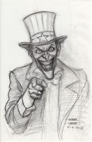 Uncle Joker sketch 8-3-2013 by myconius