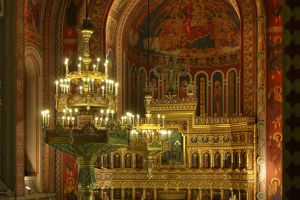 Church, interior, light by mariustipa