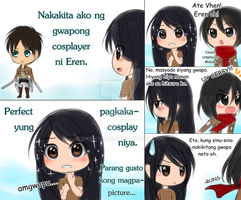 Perfect Eren Cosplay MEME by Vhenyfire