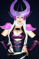 Syndra, the Dark Sovereign by dashcosplay