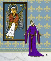 Eleanor of Aquitaine c. 1122-1204 by PrinceznaLuna