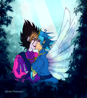 Smoochies at the garden by UltraLiThematic