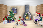 GIFT: Christmas With The Family by 2000mira