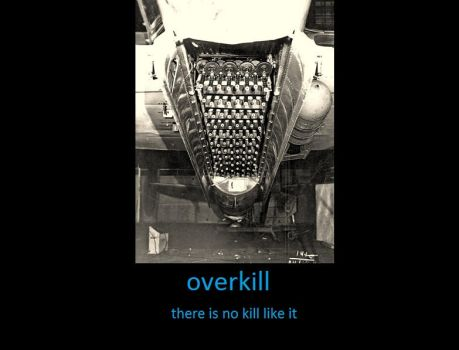 overkill demotivator by sniperwiner