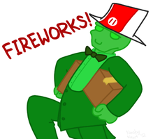 Time for Fireworks by Noobynewt