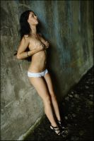 Stacey - tunnel lingerie revisited 4 by wildplaces