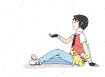 just a little rain by ofsilenceandsnow
