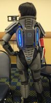 N7 Armor: Back by GothicEssence