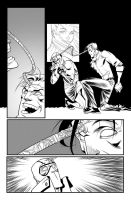 Fantomex MAX, Issue 4, page by Inkpulp