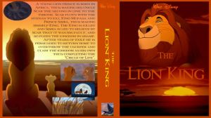 The Lion King Cover DVD by dyb