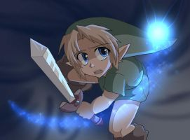 Young Link anime by AngelofHapiness