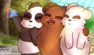 = We Bare Bears = by Kalu-Wintro