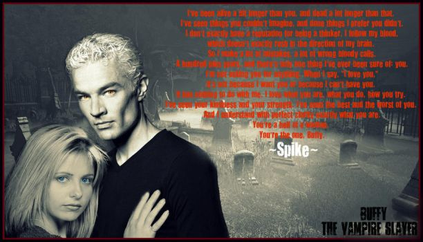 Spike and Buffy by Melciah1791
