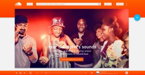 SoundCloud with Material Design Concept by JovicaSmileski