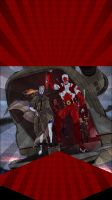 Customized iPhone Wallpaper: Captain Canuck Theme by CanadianPeaceMaker