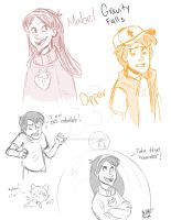 Gravity Falls by animegirl43