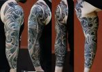 sleeve done by strangeris