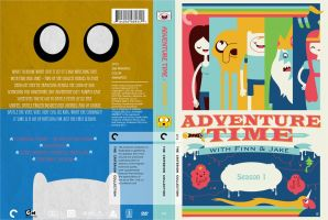 Criterion Cover - Adventure Time Season 1 by lancheney