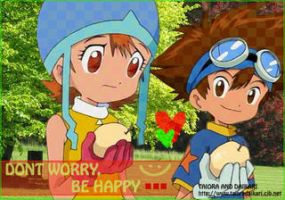 taiora don't worry be happy by mikadigitaiorafans