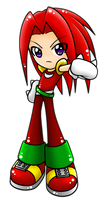 Knux by WatermelonOwl