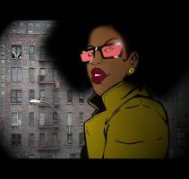 Foxy Brown urban soul by teflonmonkey