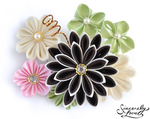 Spring Garden Kanzashi by SincerelyLove