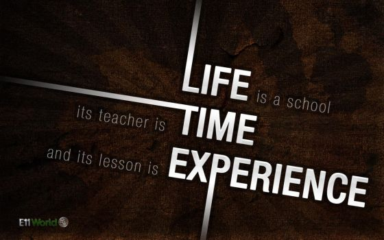Life Time Experience by e11world