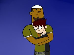 Total Drama Request: DJake by PauNyanOrange