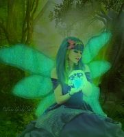 The Fairy of the Forest by LaraGirlySkull