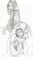 Richard III and Anne (WIP) by theterriblezodin