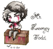 Chibi Mr Sweeney Todd by Kyo-Chans